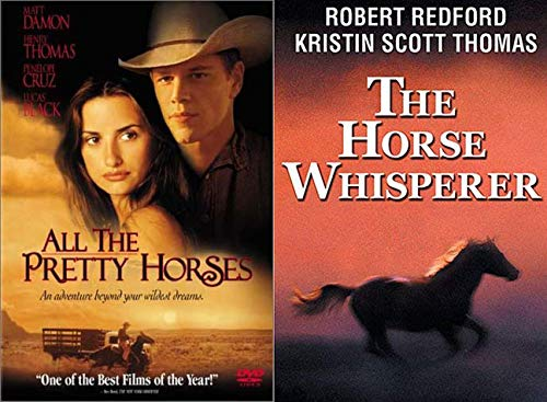 Horse Stories By Cormac McCarthy + Robert Redford: All The Pretty Horses + The Horse Whisperer 2 DVD Horse Lovers Pack