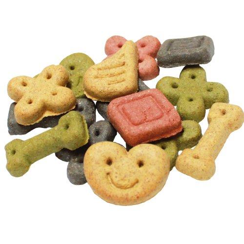 Schecker Hundekekse Glücks Kekse 500 g bunte Mischung aus verschiedenen Belohnungshäppchen in unterschiedlichen Geschmacksrichtungen Hundekuchen Hundeleckerlie