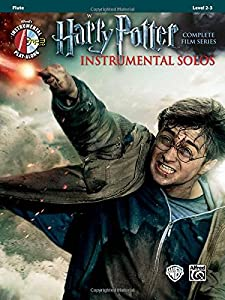 Harry Potter Instrumental Solos: Flute (Book & CD) (Pop Instrumental Solo)
