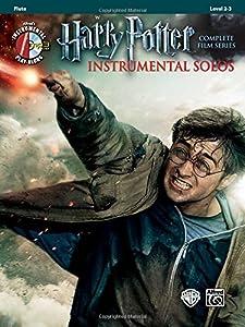 Harry Potter Instrumental Solos: Flute (Book & CD) (Pop Instrumental Solo)