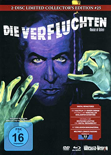 Die Verfluchten - Der Untergang des Hauses Usher (2-Disc Limited Extended Collector's Edition Nr. 25, Cover B, Limitiert auf 22