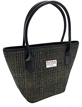 Ladies 100% Harris Tweed Tote Bag 8 Colours Available New LB1008