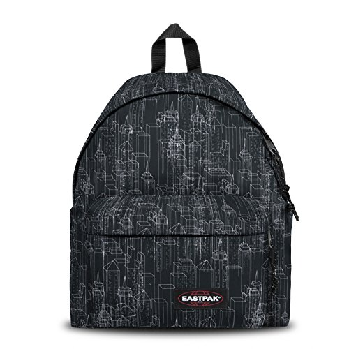 Eastpak Pak\'R Imbottito Zaino, Nero (Black Blocks)