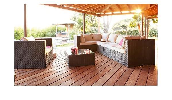 Salon de jardin Hespéride SANTO PIETRO: Amazon.fr: Jardin