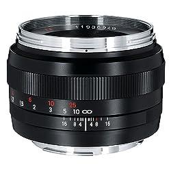 Carl Zeiss Planar T* 1.4/50 - Kameraobjektive (weit, SLR, 7/6, 1.4-16, Canon EF, Schwarz)