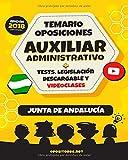 Temario Oposiciones Auxiliar Administrativo, Junta de Andalucía.: Tests, Legislación Descargable y Videoclases