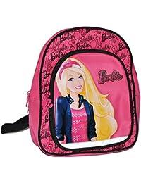 Preisvergleich für Unbekannt großer Rucksack Barbie mit Glitzereffekt für Kinder - mit 2 Fächern Kinderrucksack groß Kind Barbiepuppen...