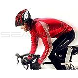 Cycle casque de sécurité–avec éclairage LED ultra léger, Excellent Ventiation, CE de sécurité–Montagne Vélo de route casques pour homme et femme–Réduit les blessures–Inpay