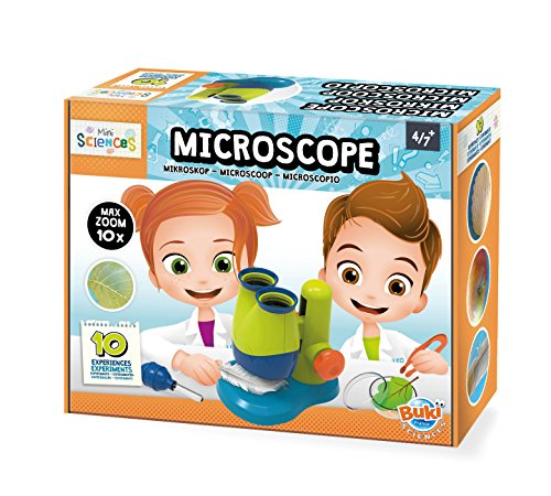Buki France- BUKI 9003-Mini Scienza-Microscopio, 9003