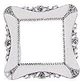VWH Weiß Plastikquadrat Luxurious Lichtschalter Aufkleber-Abdeckung Hauptdekoration -Aufkleber