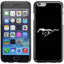 Ziland Slim Design Case Cover Shel / Mustang Wild Horse / Apple iPhone 6 Plus 5.5