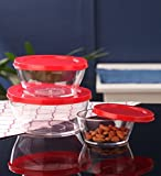 TallBoy Crystal Clear Container Set, 3-P...