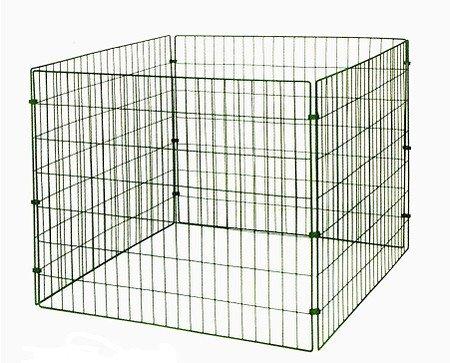 myGardenlust Gitter Komposter - Schnellkomposter aus Stahl mit Kunststoff - Thermokomposter mit Klappe - Kompostierer stabil und hochwertig - Komposter für Garten-Abfälle Grün | 660L
