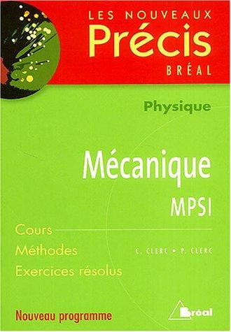 Mcanique MPSI