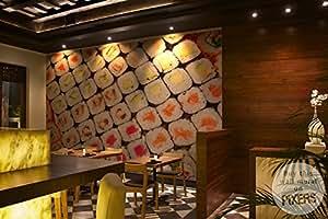 SUSHI Papier Peint Vinyle Premium 375 x 250 cm | PIXERS