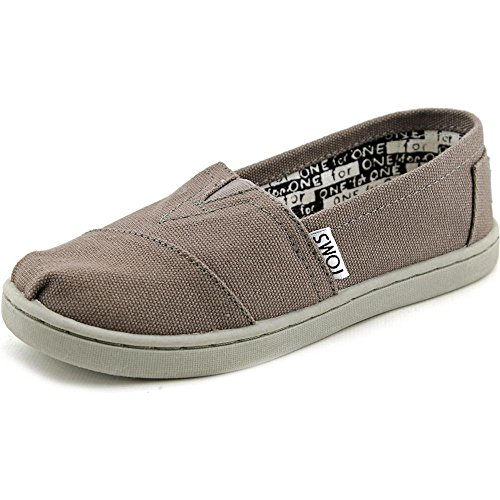 Toms - Classics Youth Shoes for Kids, UK: 4.5 UK, Ash Grey