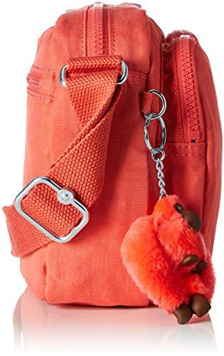 Kipling - Patti, Borse a tracolla Donna Arancione (Galaxy Orange)
