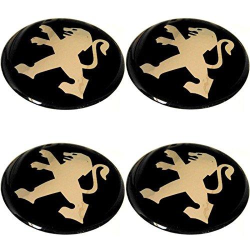 4 x Emblem Felgen Aufkleber Logo Nabendeckel Nabenkappe Radkappe 56 mm