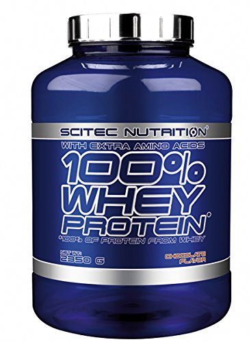 100% whey professional supplemento proteico al cioccolato da 2350gr by scitec nutrition
