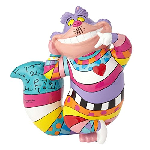 Alice im Wunderland Cheshire Katze Figur von Britto (Britto Katze Figuren)
