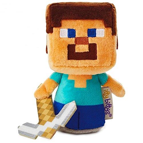 Hallmark Itty Bittys Minecraft Steve US Edition