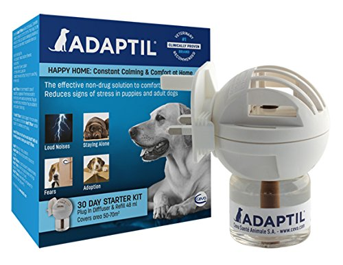Adaptil Dog Calming 48ml Diffuser / Refill -Natural canine carming spray good for calming dogs in tences situations (travel and new homes ect.) Test