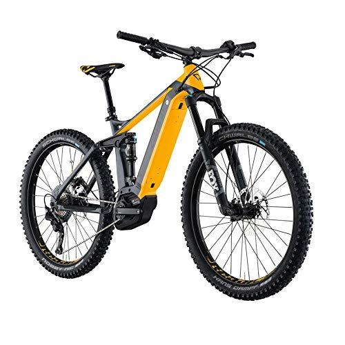 """Conway eMF527+ 27,5\"""" E-Bike Fully, Grau-Orange (44cm)"""