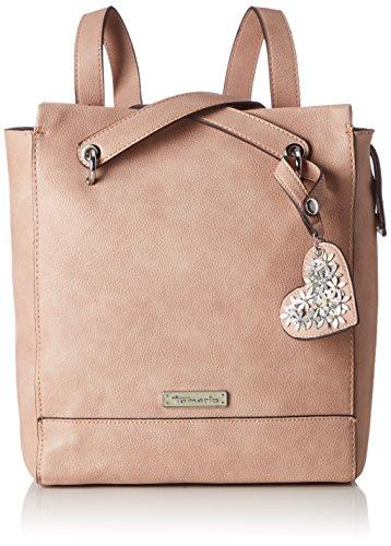 Tamaris Damen Milla Backpack Rucksackhandtasche, Pink (Rose), 11x30x27,5 cm