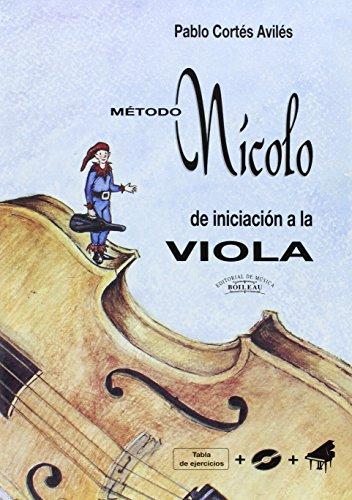 Descargar Libro Nícolo - Método de iniciación a la Viola de Pablo Cortés