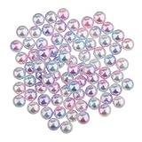 MagiDeal 200 x Runde 3mm Kunststoff Perlen Spacer Beads Diy Handwerk Beißring perlen