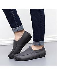 d2a16fbf5b4 Zapatillas para hombre impermeables / zapatos de trabajo de cocina / zapatos  de chef resistentes al