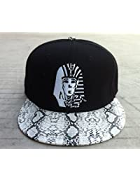 Last Kings Snake Skin Snapback V Snap Back Leopard(black) by Last Kings