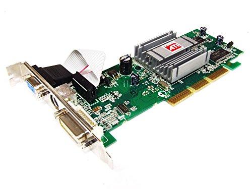 Sapphire ATI Radeon 9250 128MB DVI VGA TV-Out AGP Graphics Card 1024-RC26-1F-SA (Zertifiziert und Generalüberholt) -
