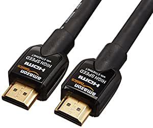 AmazonBasics High-Speed HDMI Cable 7.6 m / 25 Feet Supports Ethernet, 3D, Audio Return
