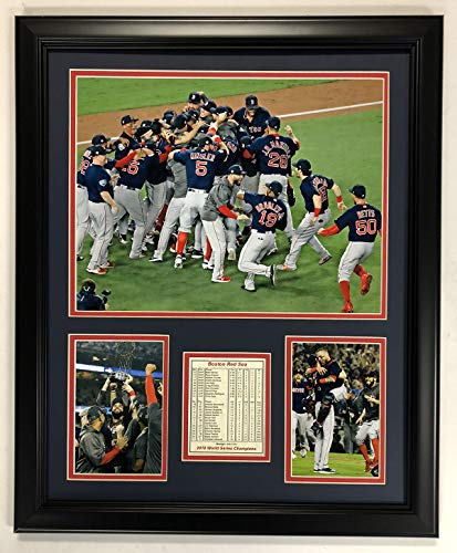 B Boston Red Sox 2018 World Series Champions gerahmtes Foto-Collage, 45,7 x 55,9 cm ()