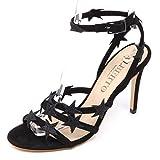 ALBERTO GOZZI D5712 Sandalo Donna Nero Scarpe Star Shoe Woman [35]