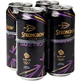 Strongbow Dark Fruit Cider, 4 x 440ml Cans