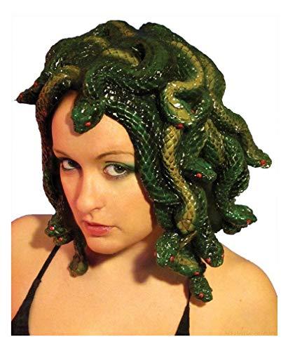 Kostüm Perücke Medusa - Medusa Kopfschmuck Deluxe