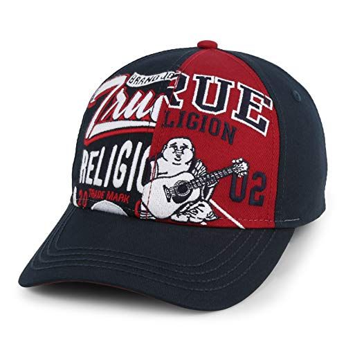 True Religion Men's Split Graphic Ball Cap -