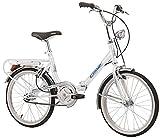 Bici pieghevole Cicli Cinzia Firenze, telaio in acciaio, ruote da 20