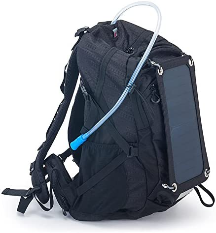 2807b32be9 Zaino con caricabatterie solare usb e e e borsa di acqua da 2 litri, Unisex  adulto, nero B071F4RW5Q Parent | Più economico | In Breve Fornitura | Gioca  al ...