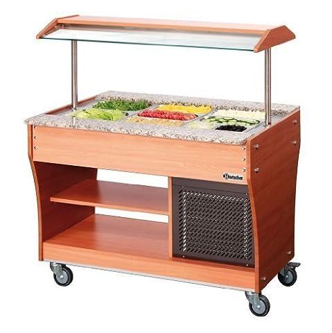 Buffet/bar à salades Gastro T GN 3 x 1/1, 150 mm profond