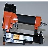 Clavadora Neumática FASTGUN PT635 Agujas con y sin cabeza de 0,6 mm + Compresor ENERGY 6 + Niflex 7,5 mts completo - Especial Tapetas - Novedad