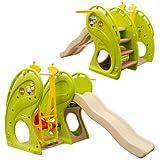 Kinderrutsche mit Schaukel EPR-KS-112 Wellenrutsche Schaukel Kinderschaukel