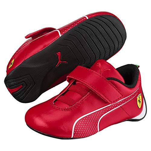 PUMA Ferrari Future Cat Ultra V Preschool Kinder Sneaker Rosso Corsa-Puma White 1.5