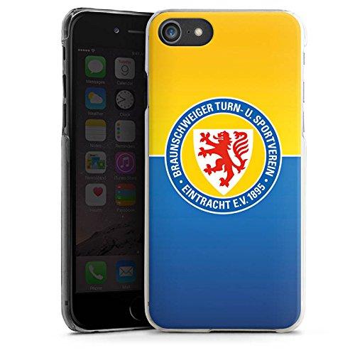 Apple iPhone 7 Tasche Hülle Flip Case Eintracht Braunschweig Fanartikel BTSV Hard Case transparent
