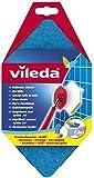 Vileda 116499 Bad Blitz Ersatzschwamm - hexagonale Form und sanft zu Oberflächen für die optimale Badreinigung