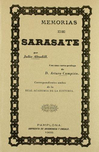 Descargar Libro Memorias de sarasate de Julio Altadill