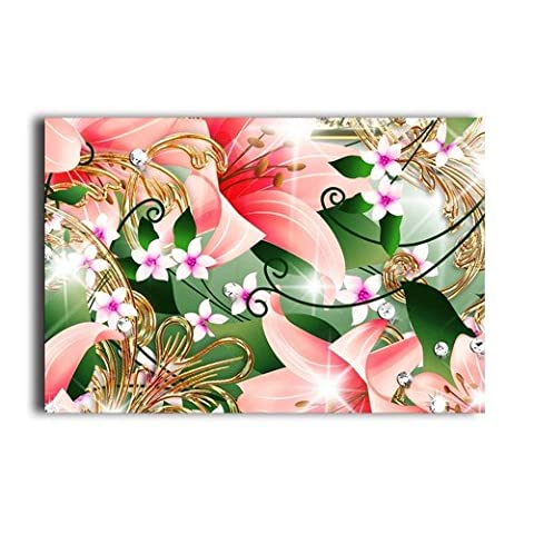 Pink Lily 20 X 30 Inch Wall Sticker Fashion Poster Customized Design