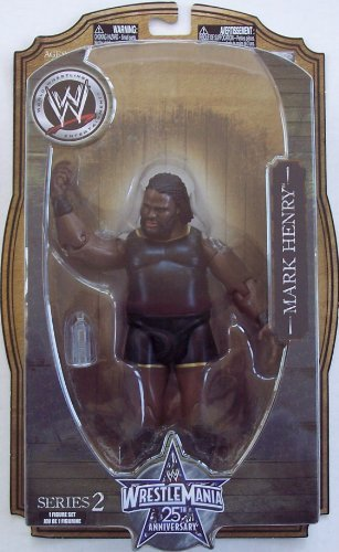 WWE MARK HENRY WRESTLEMANIA 25TH ANNIVERSARY SERIES 2 by Jakks Pacific
